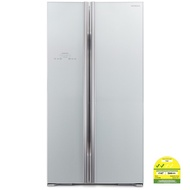 HITACHI RS705P2MS 2 Door Side by Side Fridge (Net 605L)