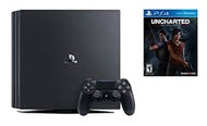 PlayStation 4 Pro Console 2 items Bundle:PlayStation 4 Pro 1TB Console, Game Disc Uncharted: The Los