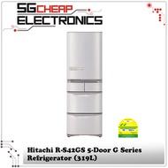 Hitachi R-S42GS 5-Door G Series Refrigerator (319L)