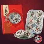 選【寶來發】老上海紅豆豆沙鬆糕BE(純素 550g/盒)
