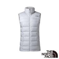 【The North Face】女 700FP防潑水羽絨背心L白色
