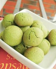 抹茶雪球酥餅《用鑫烘焙》#日本茶粉#手工餅乾#下午點心#