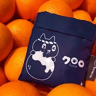 Kuroro 環保摺疊購物袋-津津有味款