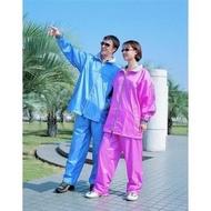 三和牌 雅風型尼龍風雨衣 兩件式雨衣 兩截式 上衣+褲子 防水風衣 防水褲 雨季 下雨