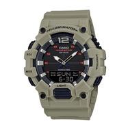 Casio Standard นาฬิกาข้อมือผู้ชาย สายเรซิน รุ่น HDC-700HDC-700-3A3 - สีน้ำตาล