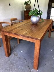 老柚木拼接餐桌 (L180 W90 H76 cm)