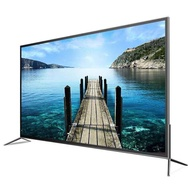 Ace TV 80 inch 4K curved intelligent voice network 50/55/60/65/70/75 inch flat panel LCD