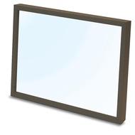 Yanoman  直立式透明框 108片 棕色  18.2X25.7cm  拼圖總動員  日本進口