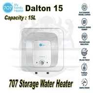 707 DALTON 15 LITRE WATER STORAGE HEATER / STORAGE HEATER / DALTON 30/ 10 YEARS WARRANTY