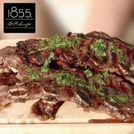 【勝崎生鮮】美國1855黑安格斯熟成帶骨牛小排10片組(150公克±10% / 1片)