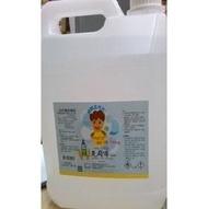 克司博酒精液75% 4公升/桶 花草香味【艾保康】