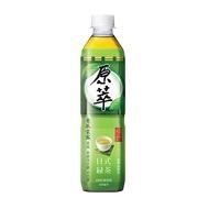 (免運)【原萃】原萃日式綠茶 580ml*24入/箱