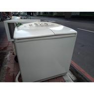 [皇后洗衣機]國際2手9公斤雙槽洗衣機