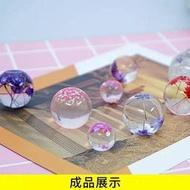 現貨 水晶滴膠球體矽膠模具星空球模具9-25mm多規格球體模具