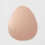 Pear Shape Wall Mirror | Mirror Sticker Paste Wallpaper Glass Wall Room Mirror Decor
