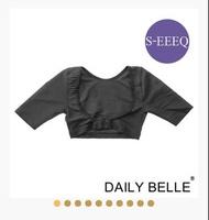 黛莉貝爾 頂級冰肌短袖袖套 第一代 內衣 豐胸  S