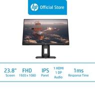 HP X24ih Gaming Monitor Screen / 23.8 FHD / IPS Display / 1ms GtG / 144 Hz / AMD FreeSync Premium / On-screen Controls