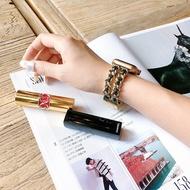 ใช้ Applewatch นาฬิกาข้อมือขนาดเล็กหวานลมโลหะ Iwatch5432รุ่นทั่วไปน้ำ