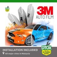 (Installation included) 3M AUTOFILM For Large Saloon SS1 Solar & Safety Car Scotchshield Crystalline Tint / Tinting  -  (50% TSER  68% VLT)