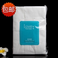 Love soft plain weave cotton 1000 non-woven cotton makeup remover Professional installed cosmetic to