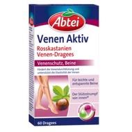 德國代購 Abtei Venen Aktiv七葉樹靜脈曲張膠囊 60錠
