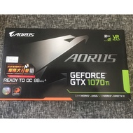 [ 二手 ] GIGABYTE 技嘉 AORUS GeForce GTX 1070 Ti 8G 顯示卡 鷹版