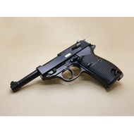 < WLder > WE P38 魯格 4吋 全金屬 瓦斯槍 黑 (BB槍BB彈手槍CO2槍短槍模型槍直壓槍LUGER P-08德國軍官二戰