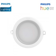 (2 Pack) Philips Hue White Ambiance Garnea Dimmable LED Smart Retrofit Recessed Downlight (6-Inch, 150mm) - 51108