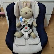 《加贈全新防塵隔熱罩》奇哥彼得兔0~4歲汽車安全座椅/汽座