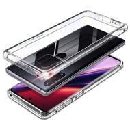 透明殼專家SAMSUNG NOTE10+ 清透鋼化玻璃殼