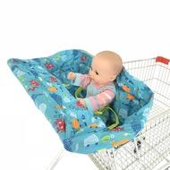 潮貨▲兒童寶寶便攜餐椅墊防臟座套購物車餐桌坐墊 餐館高腳椅坐墊