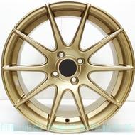 全新鋁圈 wheel S881 16吋鋁圈 4孔100 4孔114.3 5孔100 5/114.3 金色