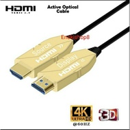 Hdmi To Hdmi Optical 4k 30m Cable / 30meter Optical Hdmi To Hdmi Cable