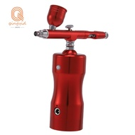 Auto Airbrush Kit Rechargeable Handheld Mini Air Compressor Airbrush Set with 0.4mm Nozzles, Portable Cordless Airbrush with Low Noise for Makeup, ,  Art