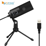 Fifine Metal USB Condenser Recording Microphone For Laptop MAC