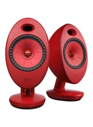 KEF EGG DUO WIRELESS MUSIC SYSTEM – RED