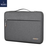 WiWU แล็ปท็อปกันน้ำกระเป๋ามีปกเคสสำหรับ MacBook Air 13 A2337 M1ชิป2020ง่ายที่จับกระเป๋าแล็ปท็อปเคสสำหรับ MacBook Pro 13 A2338 2020