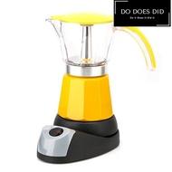 หม้อต้มกาแฟสดแบบไฟฟ้า เครื่องทำกาแฟ มอคค่าพอทไฟฟ้า หม้อต้มชากาแฟ หม้อ Moka pot ไฟฟ้า ด่วน ของมีจำนวนจำกัด Do Does Did