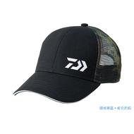 2019 新品 DAIWA DR-70009 後迷彩釣魚帽 網帽