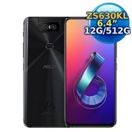 ASUS ZenFone 6 ZS630KL (12G/512G) 30周年紀念版6.4吋手機 (霧黑)【認證福利品】