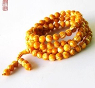 黃金硨磲手鏈108顆佛珠念珠手串項鏈多繞女款飾品
