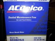 各車系 AC德科 ACDelco 免加水電瓶 S55B24LS L RS R