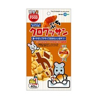 日本直送 MARUKAN MR-565 倉鼠可頌麵包 40g 適鼠兔點心