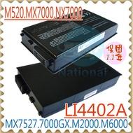 GATEWAY 電池-捷威 電池- M520,M520XL,M520S,M2000,M2350,M6000,M6410,M6805,M6810,NX7000,M520CS