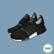 【ADIDAS】NMD R1 男鞋 休閒鞋 黑白 黑綠 螢光綠 BOOST 防潑水 GORE-TEX 熱門款 EE6433【勝利屋】