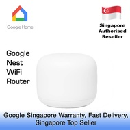 GOOGLE NEST WIFI ROUTER / 1 YEAR GOOGLE SINGAPORE WARRANTY