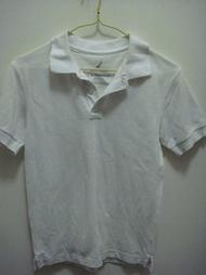 NAUTICA 白色POLO 衫 200元含郵