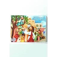 兒童聖經故事拼圖-稅吏撒該看見耶穌【基督教書籍 基督教禮品】