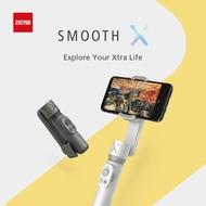 ZHIYUN Smooth X Mini Handheld Gimbal Stabilizerโทรศัพท์มือถือSelfie Stick Vlog Anti-Shake Smoothxสมาร์ทบลูทูธสมาร์ทโฟน