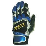 # ZETT BBGT-376-BB-R ZETT打擊手套BBGT-376(反手用) 黑藍